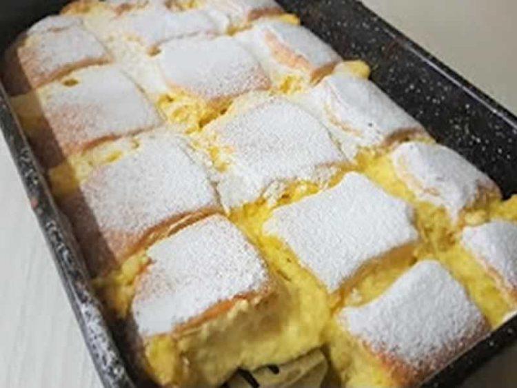 Најкремастиот десерт: Печени кремпити од рерна (Видео)