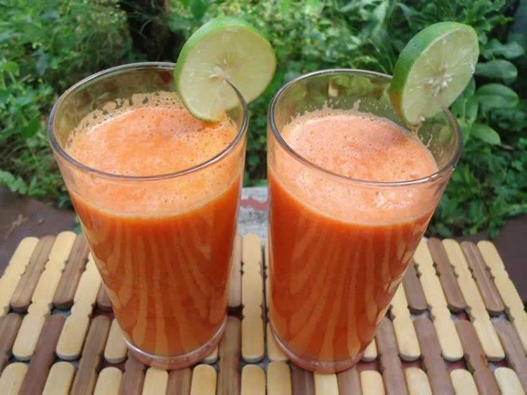 Здравје во чаша: Сок со моркови и нане