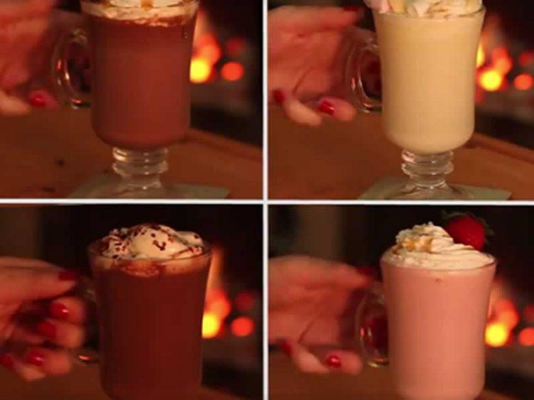 Кој може да одолее: Бело топло чоколадо