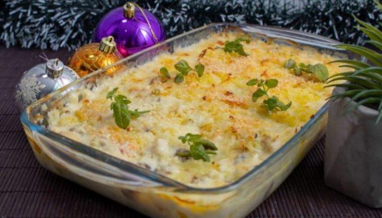 Ручек кој долго се памти: Пилешко и компири во бешамел сос