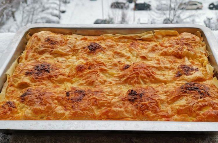 Гурманска пита со месо, прелиена со пиво: Ручек кој не се заборава