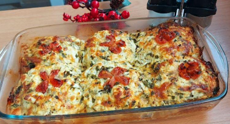 Ручек кој постојано ќе го правите: Шницли од мелено месо со прелив од сирење и јајца запечени во рерна