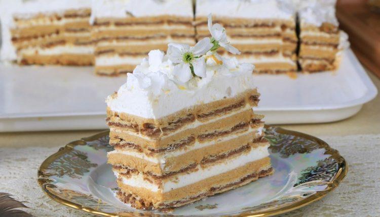 Шехерезада торта со турски бисквити