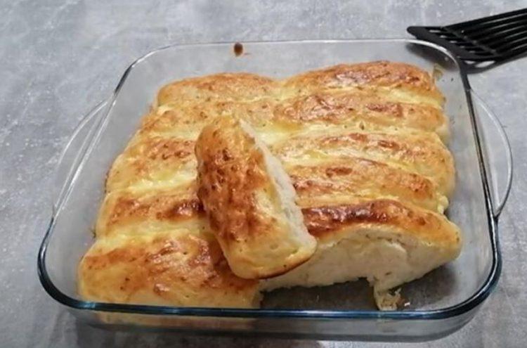 Селска пита: Тесто полнето со сирење
