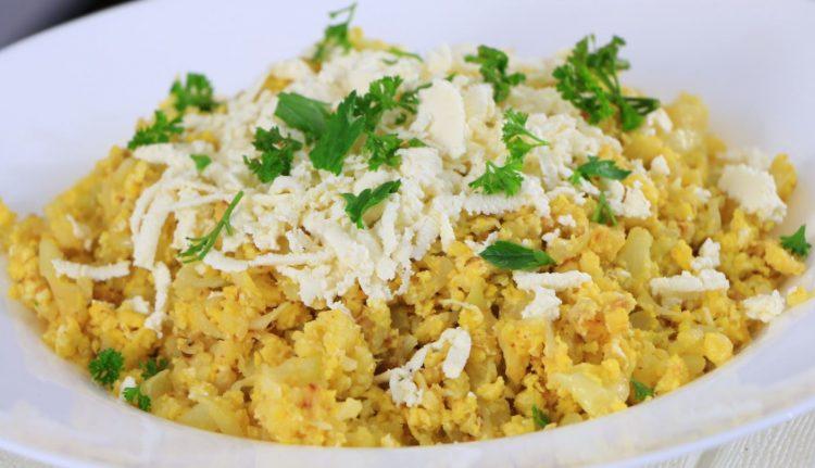 Карфиол со јајца – брз ручек