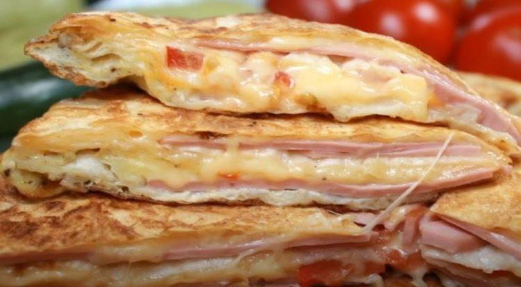 Само наредете слоеви во тава и оставете – за 10 минути вкусен доручек