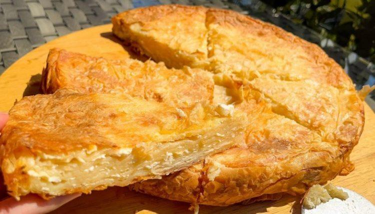 Бурек пита со сирење – гурмански доручек