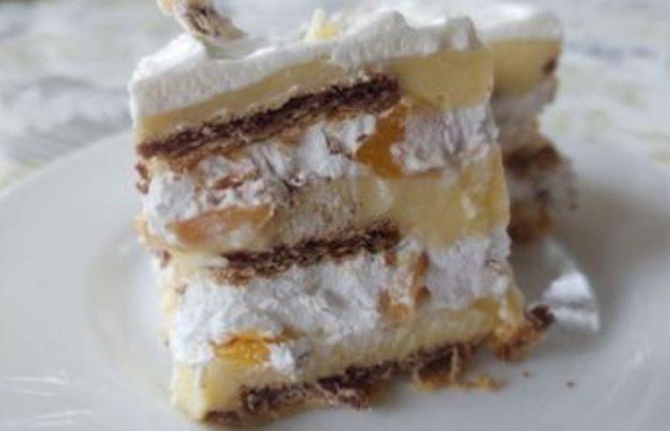 Шехерезад торта: Проверен рецепт за рајска торта од 3 слоеви – без печење