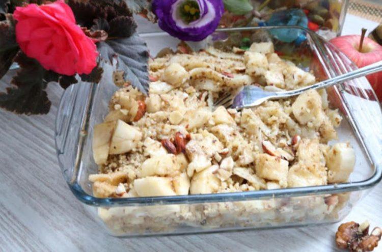 Резанки со ореви и шеќер – стар деликатес